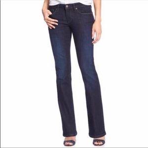 Banana Republic crisp straight trouser jeans 14L